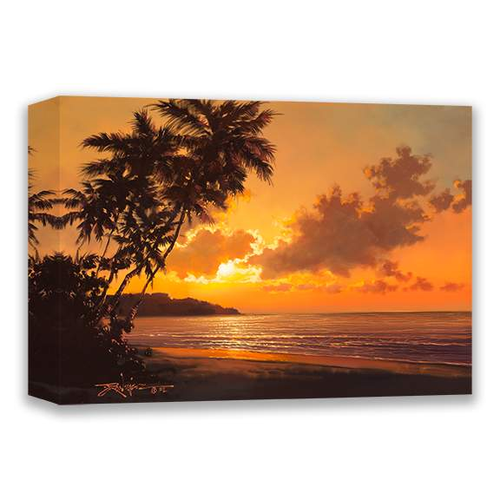 Evening Glow by Rodel Gonzalez (wrapped canvas collectible)