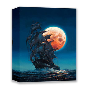Moonlit Pursuit by Rodel Gonzalez (wrapped canvas collectible)