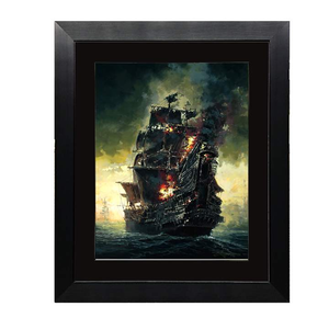 A Pirate's Journey by Rodel Gonzalez (framed fine art paper)