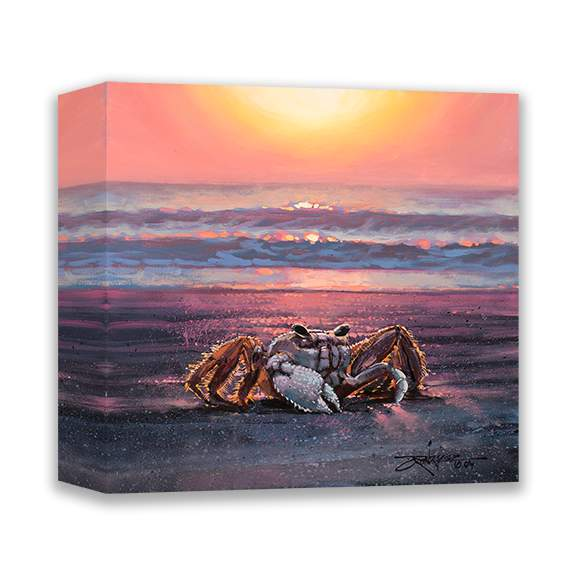 Seaside Golden Hour by Rodel Gonzalez (wrapped canvas collectible)