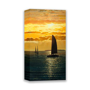 Sunset Melodies by Rodel Gonzalez (wrapped canvas collectible)