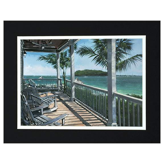 Sunset Keys by Rodel Gonzalez (matted print)