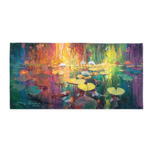 Load image into Gallery viewer, Soft Light on the Pond Towel by James Coleman