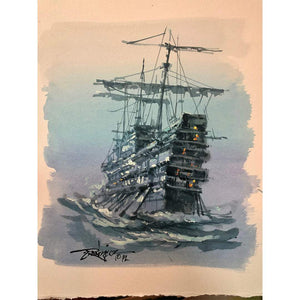 Original study by Rodel Gonzalez (Pirate Ship Beige)