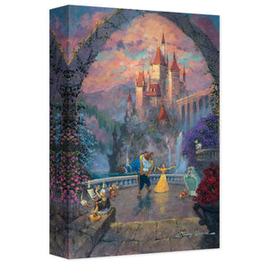 "''Beast and Belle Forever"" by James Coleman, Giclée on Canvas, Disney Treasure"