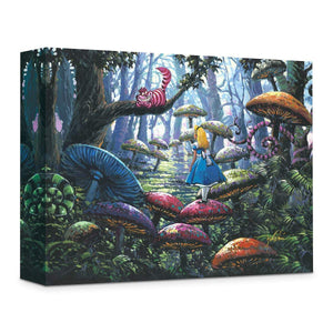 Alice In Wonderland ''A Smile You Can Trust'' by Rodel Gonzalez, Giclée on Canvas, Disney Treasure