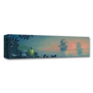 Peter Pan ''Never Land Lagoon'' by Rob Kaz, Giclée on Canvas, Disney Treasure