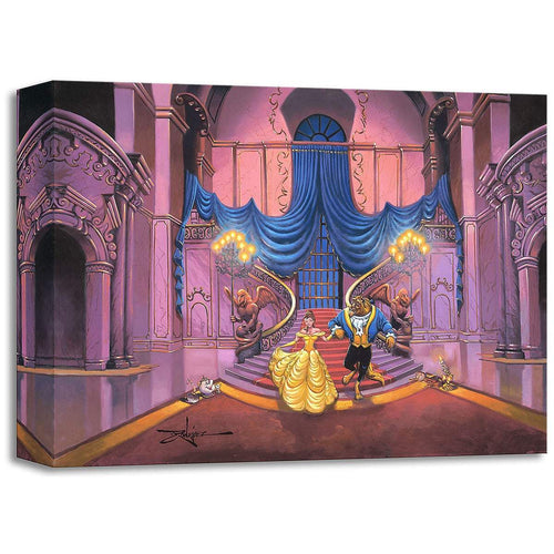 Beauty and the Beast ''Tale as Old as Time'' by Rodel Gonzalez, Giclée on Canvas, Disney Treasure