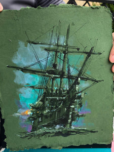 Original study by Rodel Gonzalez (Pirate Ship Green)