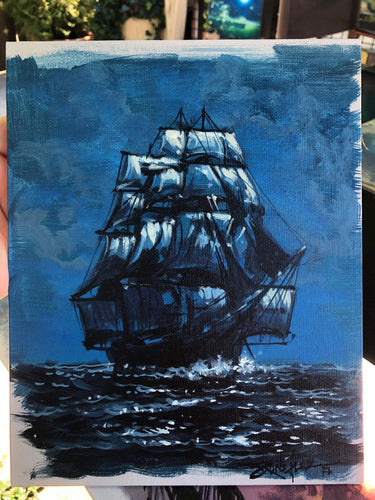 Original study by Rodel Gonzalez (Pirate Ship Blue2)