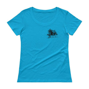 Aloha Ladies Soft Tee by James Coleman