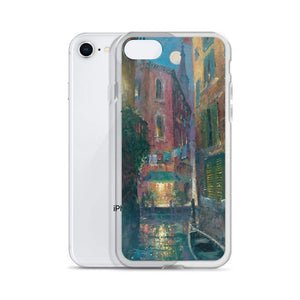 Moonlit Canal, iPhone case by James Coleman