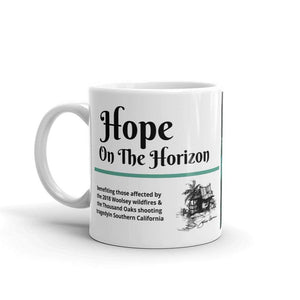 Hope On The Horizon, mug