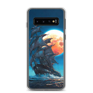 Samsung Case featuring Moonlit Pursuit by Rodel Gonzalez