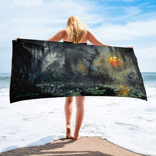 Low Country Light Beach Towel by James Coleman