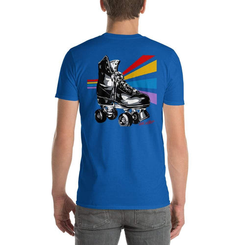 Retro Rollers Tee by Allison Lefcort