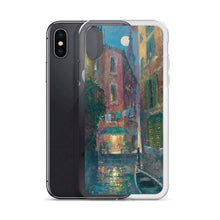 Load image into Gallery viewer, Moonlit Canal, iPhone case by James Coleman