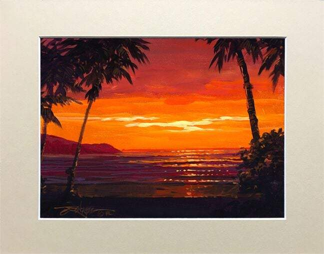 A Perfect View by Rodel Gonzalez (matted print)