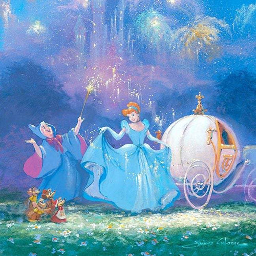 Magic Hour by James Coleman (Disney metal print)