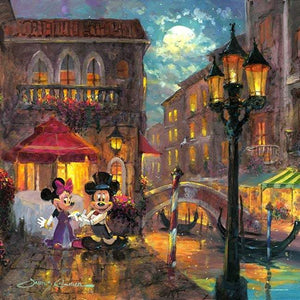 Evening Anniversary by James Coleman (Disney metal print)