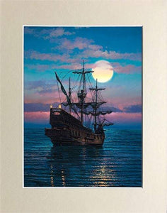 Brethren At Sea by Rodel Gonzalez (matted print)