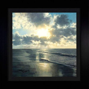 In Awe of Nature's Beauty by Rodel Gonzalez (framed metal print)
