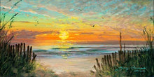Load image into Gallery viewer, Sunset Memories by James Coleman (framed canvas giclee)