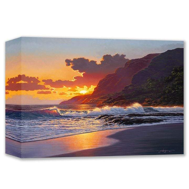 Golden Afternoon by Rodel Gonzalez (wrapped canvas collectible)