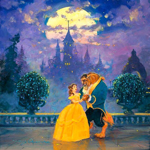 An Enchanted Evening by James Coleman (Disney metal print)