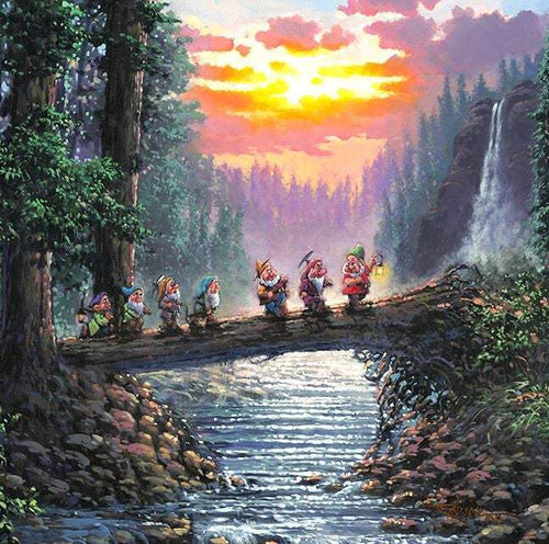 Off To Home We Go by Rodel Gonzalez (Disney metal print)