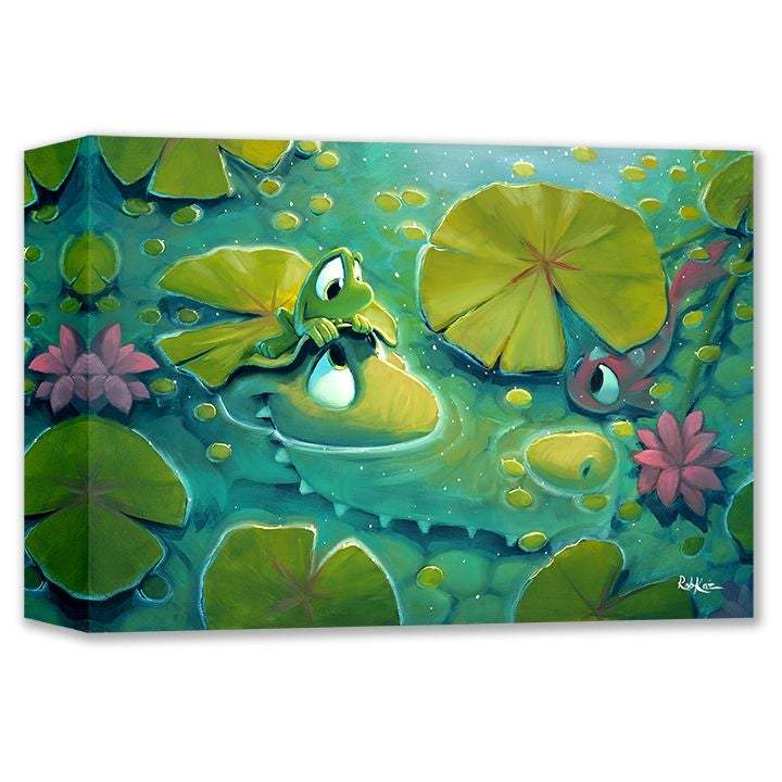 Up And Under by Rob Kaz (wrapped canvas collectible)