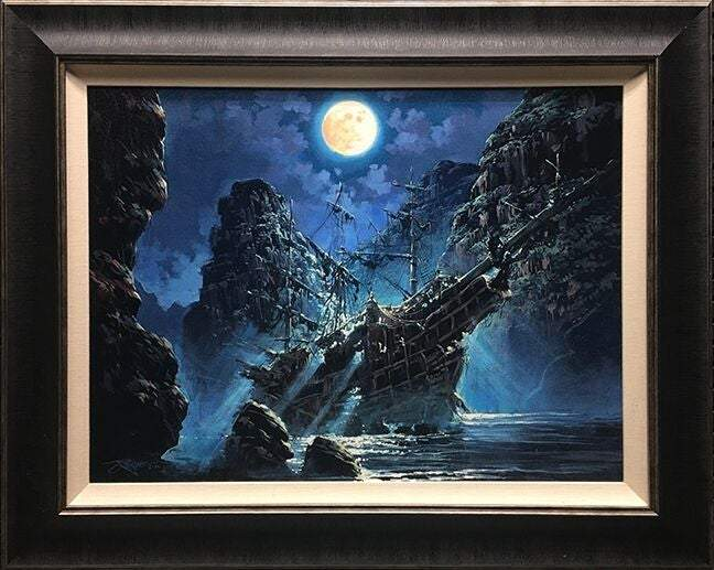 Shipwrecked by Rodel Gonzalez  (framed LE canvas giclee)
