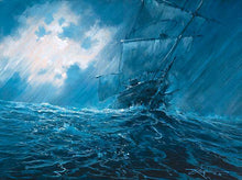 Load image into Gallery viewer, Riding The Storm by Rodel Gonzalez (wrapped canvas collectible)