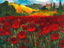 Load image into Gallery viewer, Bloomin Poppies by James Coleman (wrapped canvas collectible)