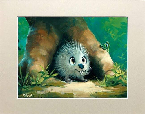 Quill You Be My Friend by Rob Kaz (matted print)