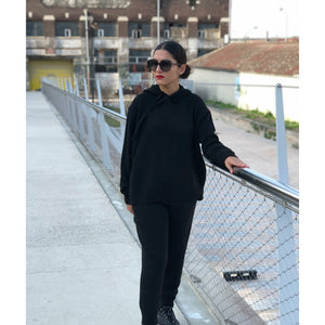 Ensemble jogging noir
