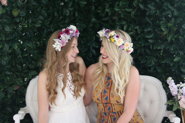 Bridal Shower Ideas Sydney Flower Wreath Making Workshop Party