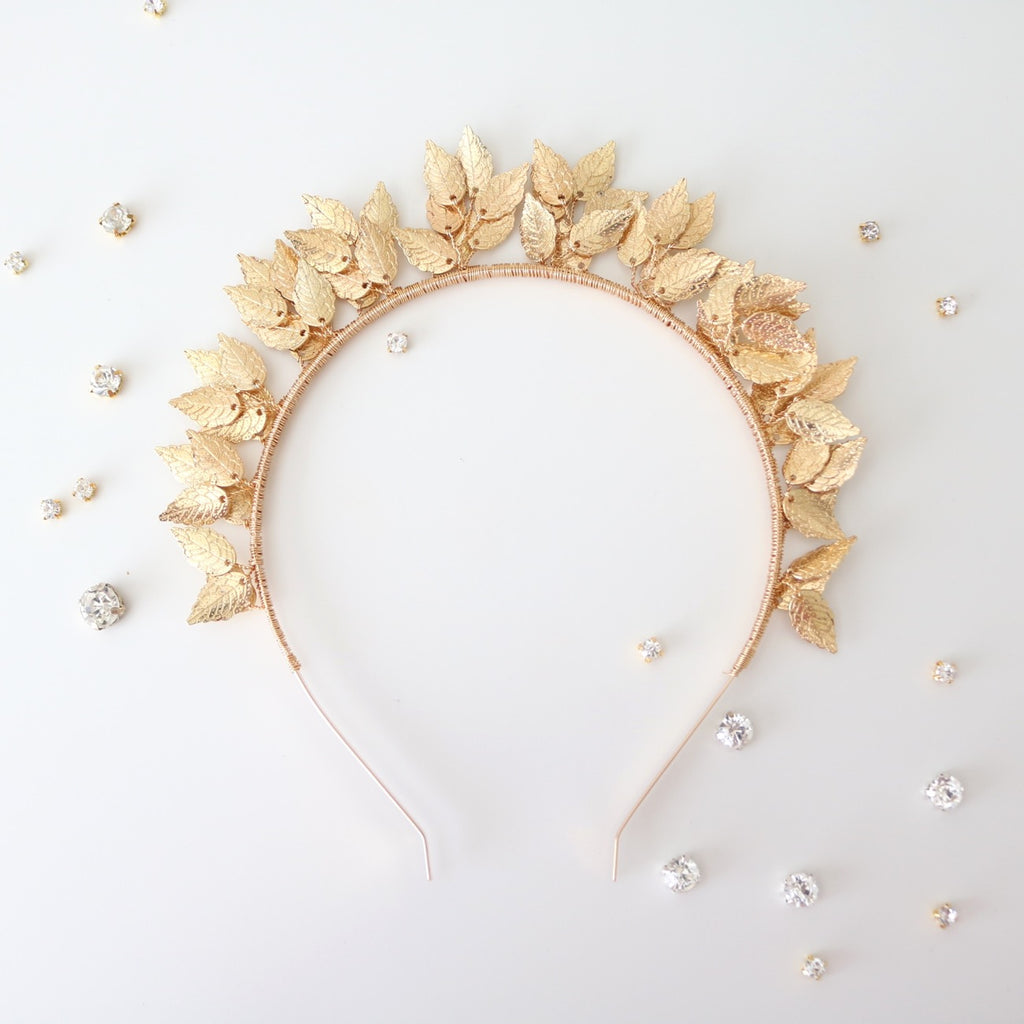 Camilla Headband (Gold)