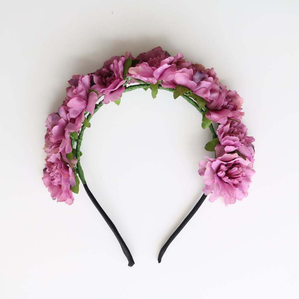 Cherish Flower Crown (Purple)