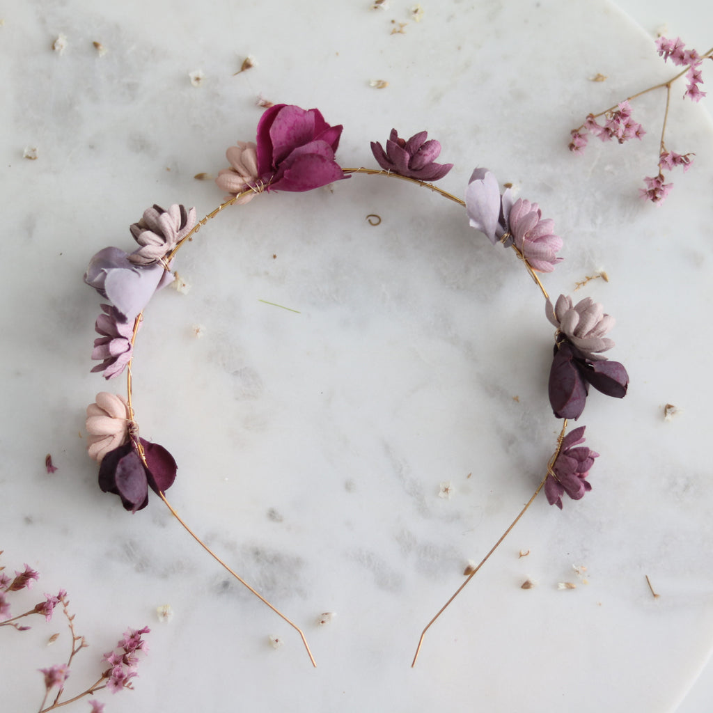 Dusty Rose Headband