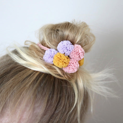 Tutu Cute Pom Pom Hair Tie