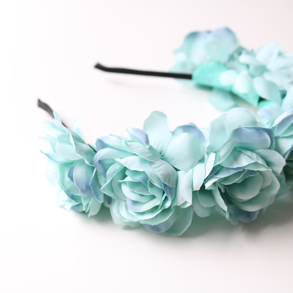Wanderlust Flower Crown (Blue)