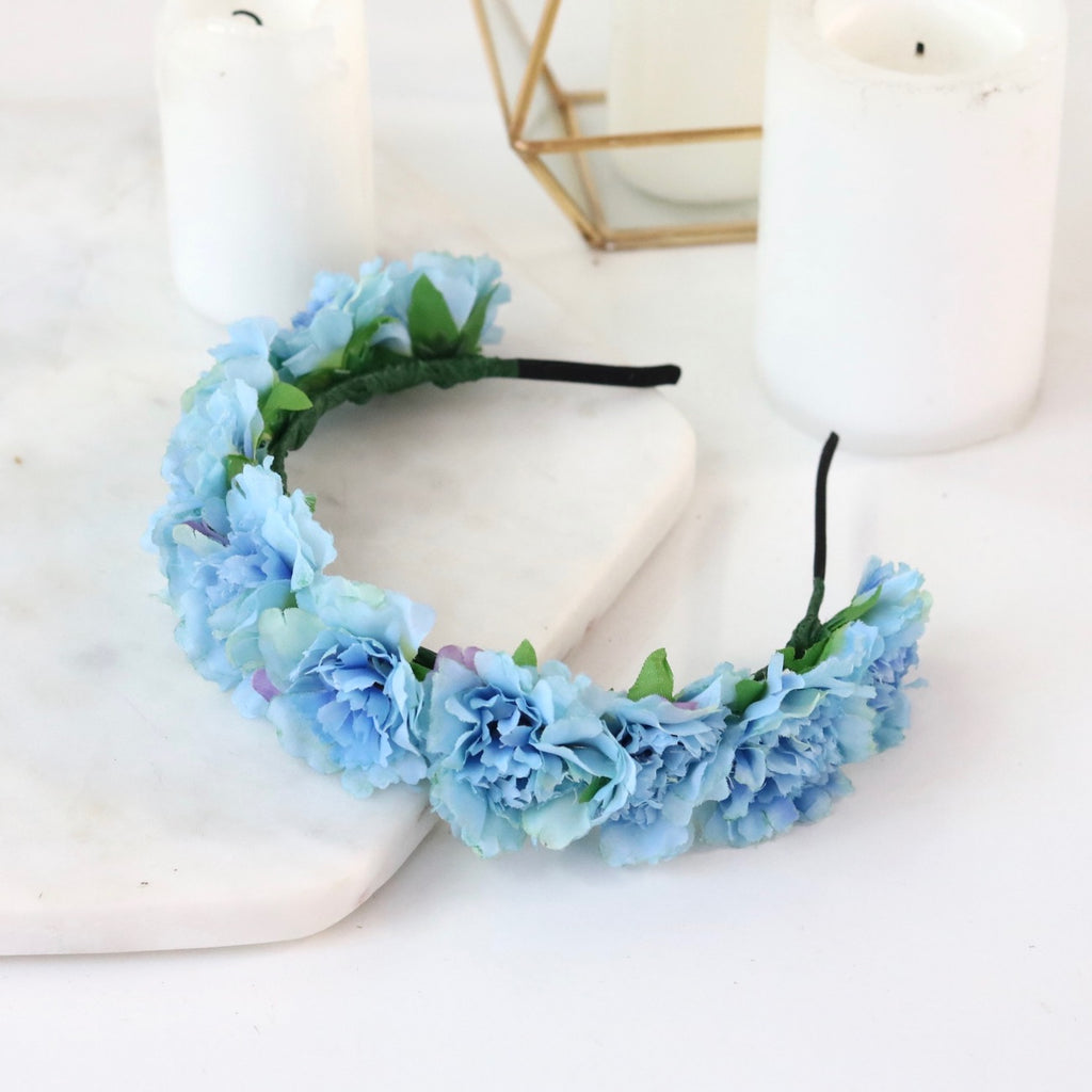 Cherish Flower Crown (Blue)