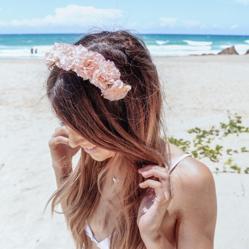 PRE-ORDER Cherish Flower Crown (Peach)