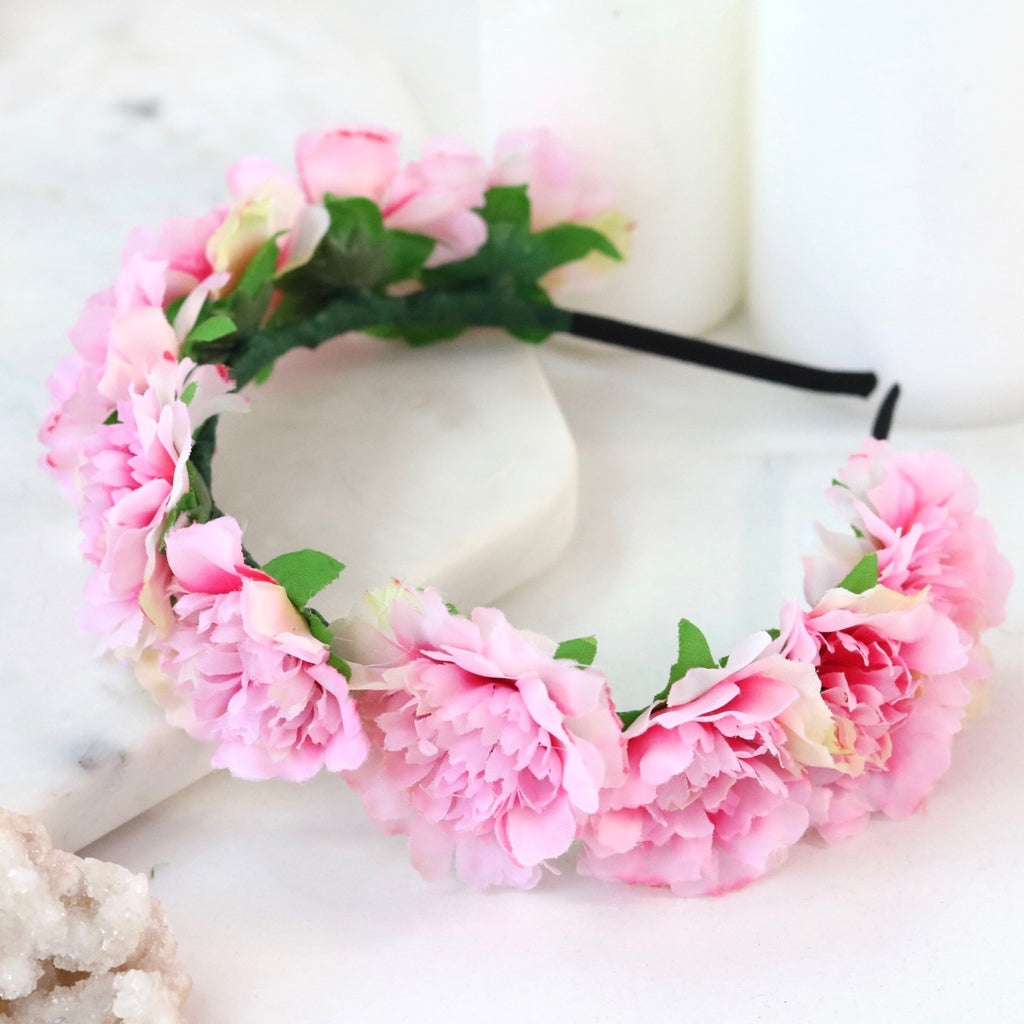 Cherish Flower Crown (Pink)
