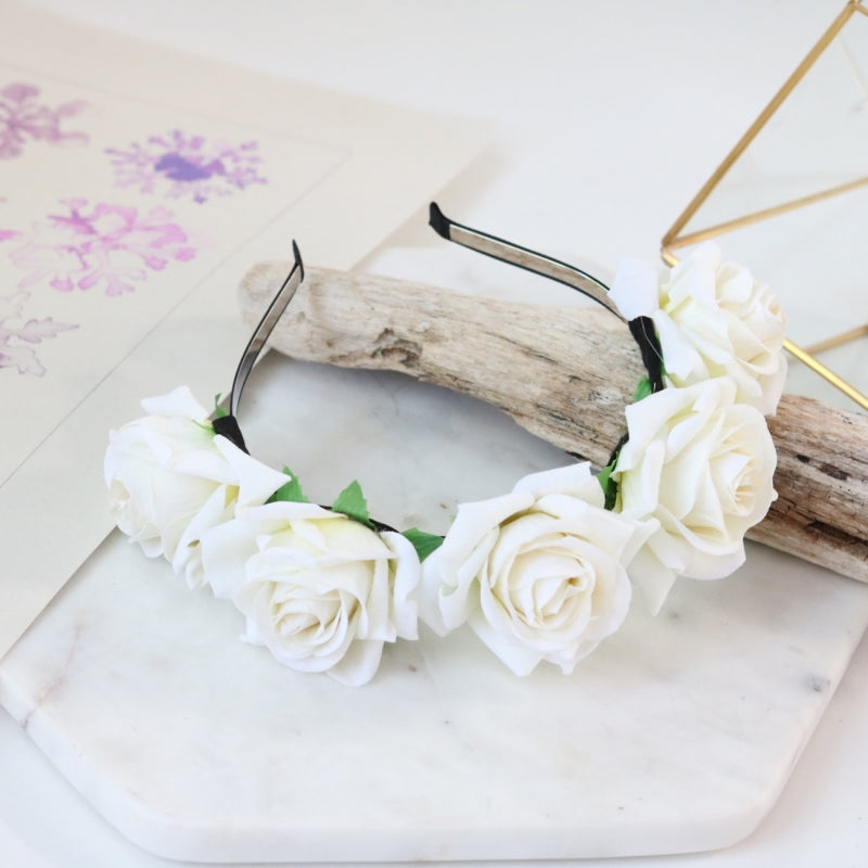 Pandora Rose Crown (Ivory)