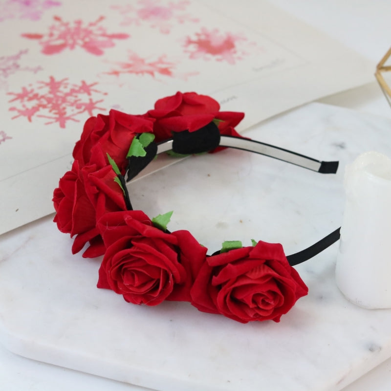 Pandora Rose Crown (Red)