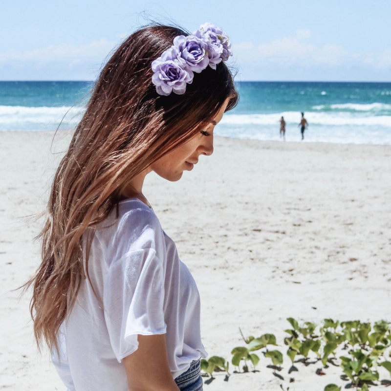 Wanderlust Flower Crown (Lilac)