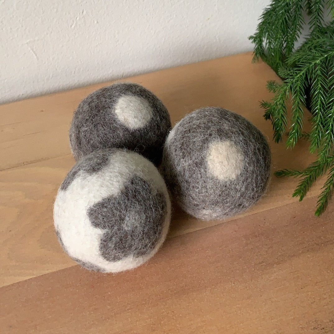 Eco-Friendly Patterned Dryer Ball
