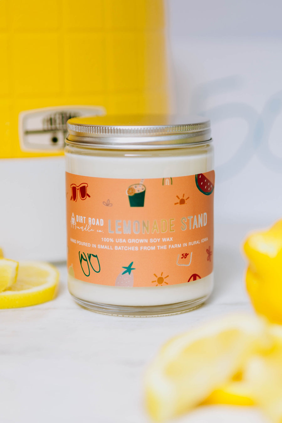 8 oz. Lemonade Stand Candle